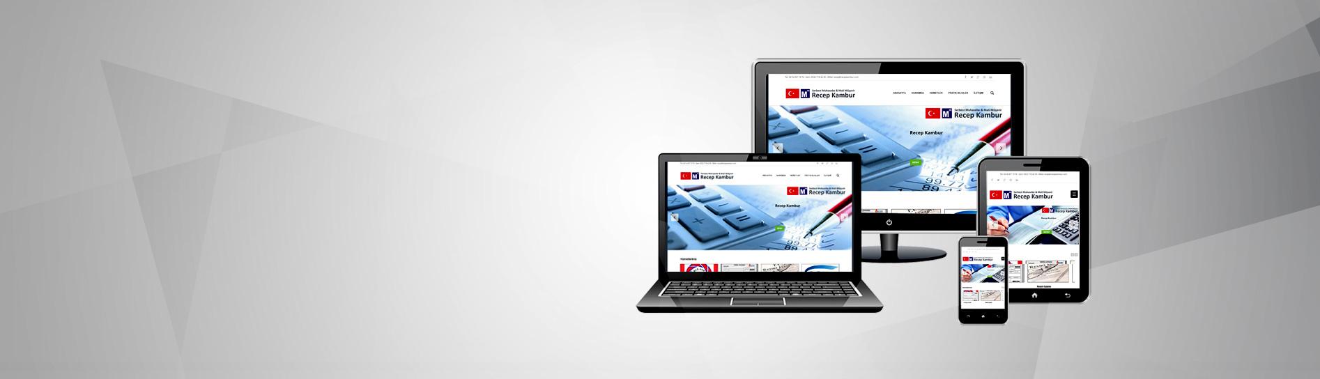 Mobil Uyumlu<br /> Avukat Web Sitesi
